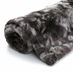 Sofa Bed Blanket Faux Fur Super Soft Thick Cozy Warm Fluffy Plush Throw Blankets