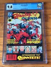 HARLEY QUINN #4 (DC 2001) White Pages CGC 9.8 1