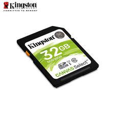 Kingston Canvas Select 32GB SDHC Class 10 SD Memory Card UHS-I U1