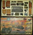 MATCHBOX PS-2 1/76 72 scale WWII BEACH HEAD ASSAULT PLAYSET +100figs RARE