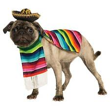 Rubie's Official Mexican Serape Pet Dog Costume Small