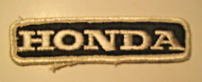 Small Honda Motorcycle/Car Automobile Jacket Patch