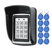 Keypad Access Control Metal Waterproof Rfid Door Lock Card Reader Password Touch