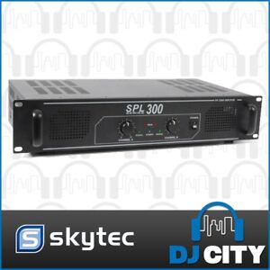 SPL300 Skytec 300Watts Power Amp PA DJ Band Amplifier