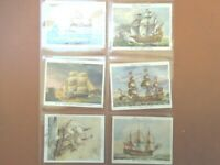 1936 Old Naval Prints navy 1514-1860 complete John Player tobacco set 25 cards
