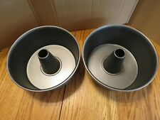 Heavy Weight Non Stick Tube Pan Set of 2 Either Nordic or Calphalon