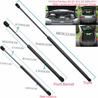 Car Front Hood+Rear Window+Trunk Gas Struts For Ford Territory SX/Y/YII /Z 04-11