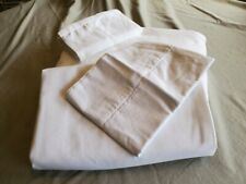 Damask by Charter Club Solid White Queen Sheet Set 100% Pima Cotton