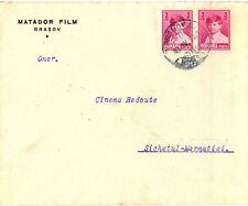 "Romania 1930 Brasov ""MATADOR"" Movie Company rare advertising cover"