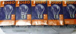 10x Soleo Glühbirne Glühlampe 75 Watt E27 klar Set Birne AGL NEU OVP