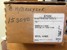 FISHER CONTROLS PRESSURE CONTROLS 67FCR-362