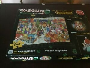 Wasgij Christmas 10 The Mystery Shopper (2 x 1000 Pieces) Jigsaw Puzzle Complete
