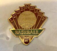 """1988 Legendary Ladies of Baseball HOF 1 1/2"""" Pin Hall of Fame"""
