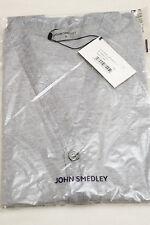 JOHN SMEDLEY Cardigan Pullover Grey Medium M Knitted BNWT Merino Wool