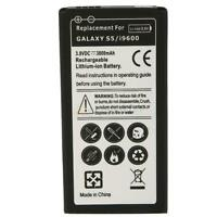 New 3800mAh Extended Battery for SAMSUNG i9600 GALAXY S5 Replcement