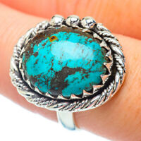 Tibetan Turquoise 925 Sterling Silver Ring Size 8.25 Ana Co Jewelry R35029F