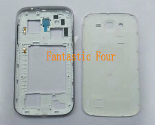 For Samsung Galaxy Grand GT-i9082 i9080 Housing Middle Frame Battery Cover White