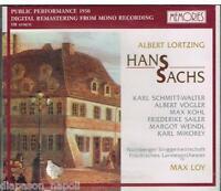 Lortzing: Hans Sachs / Max Loy, Schmitt-Walter, Vogler, Kohl, Sailer CD