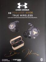 JBL Under Armour Project Rock Edition UA True Wireless Flash Earphones free ship