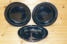 """Dansk Ceylon Royal Blue Bistro Bisserup (3) Soup Bowls, 8"""""""