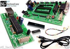 ATMEL 8051 Development Board+MAX232,89S52 IC+8051 AVR USB ASP ISP Programmer KIt