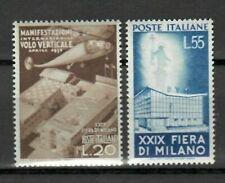 s33661 ITALIA  MNH** 1951 Fiera Milano 2v