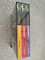 Fu-Manchu 3 X Book Set Collection Sax Rohmer Titan Books - Hand/Mystery/Daughter
