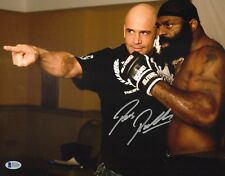 Bas Rutten Signed 11x14 Photo BAS Beckett COA UFC EliteXC Picture w/ Kimbo Slice