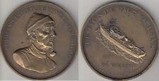 Médaille Commandant Jacques Yves Cousteau LA CALYPSO
