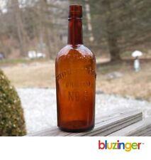 Patterson & Coane Original No. 6 Philadelphia Pre Prohibition Whiskey Bottle