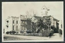 CA Redding RPPC 40's SHASTA COUNTY COURT HOUSE Street