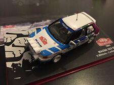 MAZDA 323 GTX MIKKOLA RALLYE MONTE CARLO 1991 RALLY WRC IXO ALTAYA 1/43