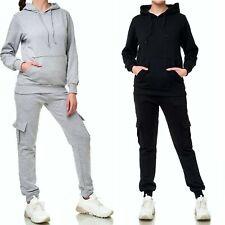 Damen Jogginganzug Frauen Trainingsanzug Sportanzug Streetwear Fitness Laufen