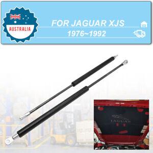 2Pcs Front Bonnet Gas Shock Struts Lift Support For Jaguar XJS 1986-1991