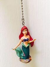 """Disney Little Mermaid Ariel 2.5"""" PVC Figure Fan Light Lamp Pull Figurine Toy"""