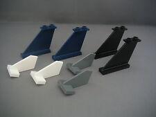 Lego 8 queues d'avion / Ailerons Neufs / Assorted plane tails REF 44661 / 2340