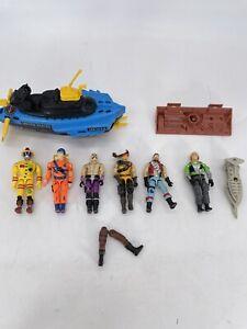 Vintage G.I. Joe Action Figures 80s 90s 3.75 Lot