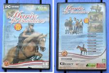 Jeu vidéo PC, CD-Rom Marie la cavalière, jeu 3D, Cheval Star, Gost in Love