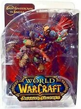 Dc Direct World Of Warcraft Series 8: Brink Spannercrank vs Snaggle Figures New