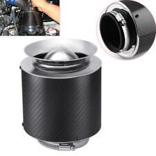 "3"" Inlet /5"" Carbon Fiber Hi-Flow Air Filter For Cold Air/Short Ram Intake Solid"