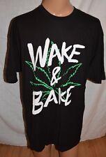 NEW Wake And Bake Pot  Marijuana Cannabis Funny Mens T shirt size 3XL XXXL