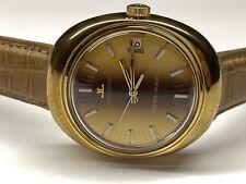 beautiful vintage jaeger lecoultre master-quartz date wristwatch