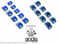 Andis UNIVERSAL Guide Clip On Combs COMPLETE 17pc Comb SET&40 UltraEdge A5 Blade