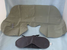 3 x New Inflatable Travel Cushion / Pillow & Eye Mask Free P&P