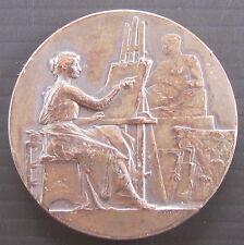 Médaille SOCIETE ARTISTIQUE DE CHARENTON-LE PONT - Signée VERNON - 40 mm  31 g