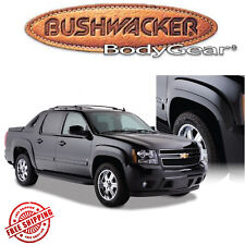 Bushwacker Matte Black OE-Style Fender Flares Fits 2007-2013 Chevy Avalanche