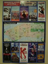 NEW YORK CITY OFFICIAL VISITOR MAP NYC TIME SQUARE & SUBWAY MAP GUIDE MAY 2018