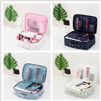 Multifunction Travel Cosmetic Bag Makeup Case Box Pouch Toiletry Organizer Store