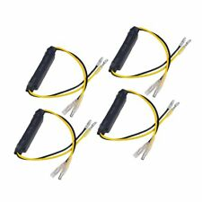 4Pcs Motorcycle Turn Signal Indicator LED Load Resistor Flash Blinker Fix Error