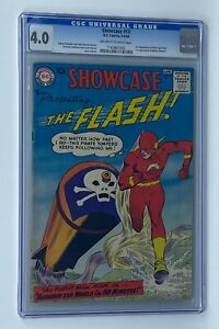 SHOWCASE #13 DC 1958 CGC 4.0 Flash 3rd Silver Age Appearance Mister Element 1st